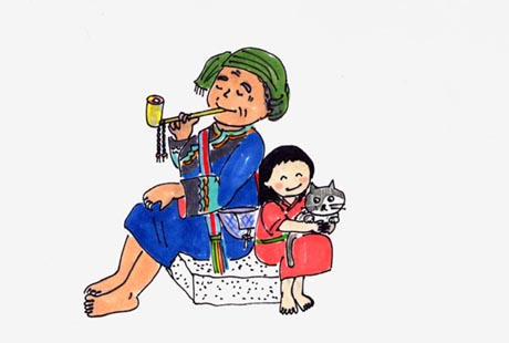 The Grand Mother and the Youthful Rascals(A Folktale about the origins of the Ami tribe in Taiwan)